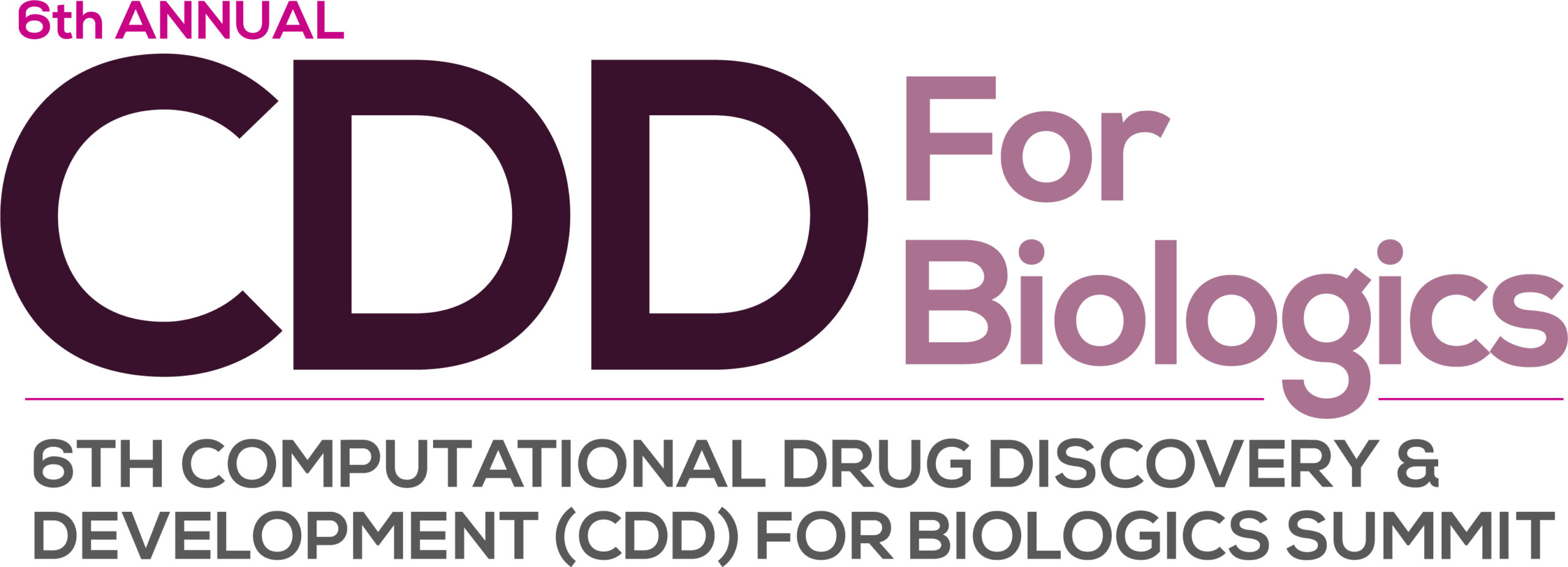 CDD For Biologics 2021 Logo