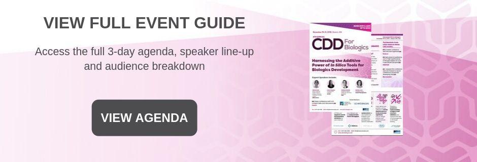Computational Drug Development for Biologics - Event Guide Home Page Banner
